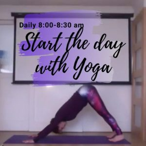 Strat the day with Yoga