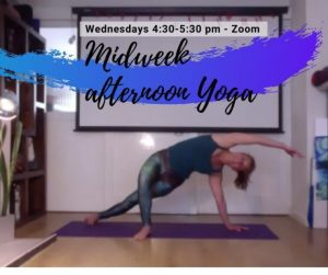 Midweek afternoon yoga